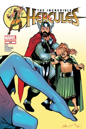 Incredible Hercules (2008) #134