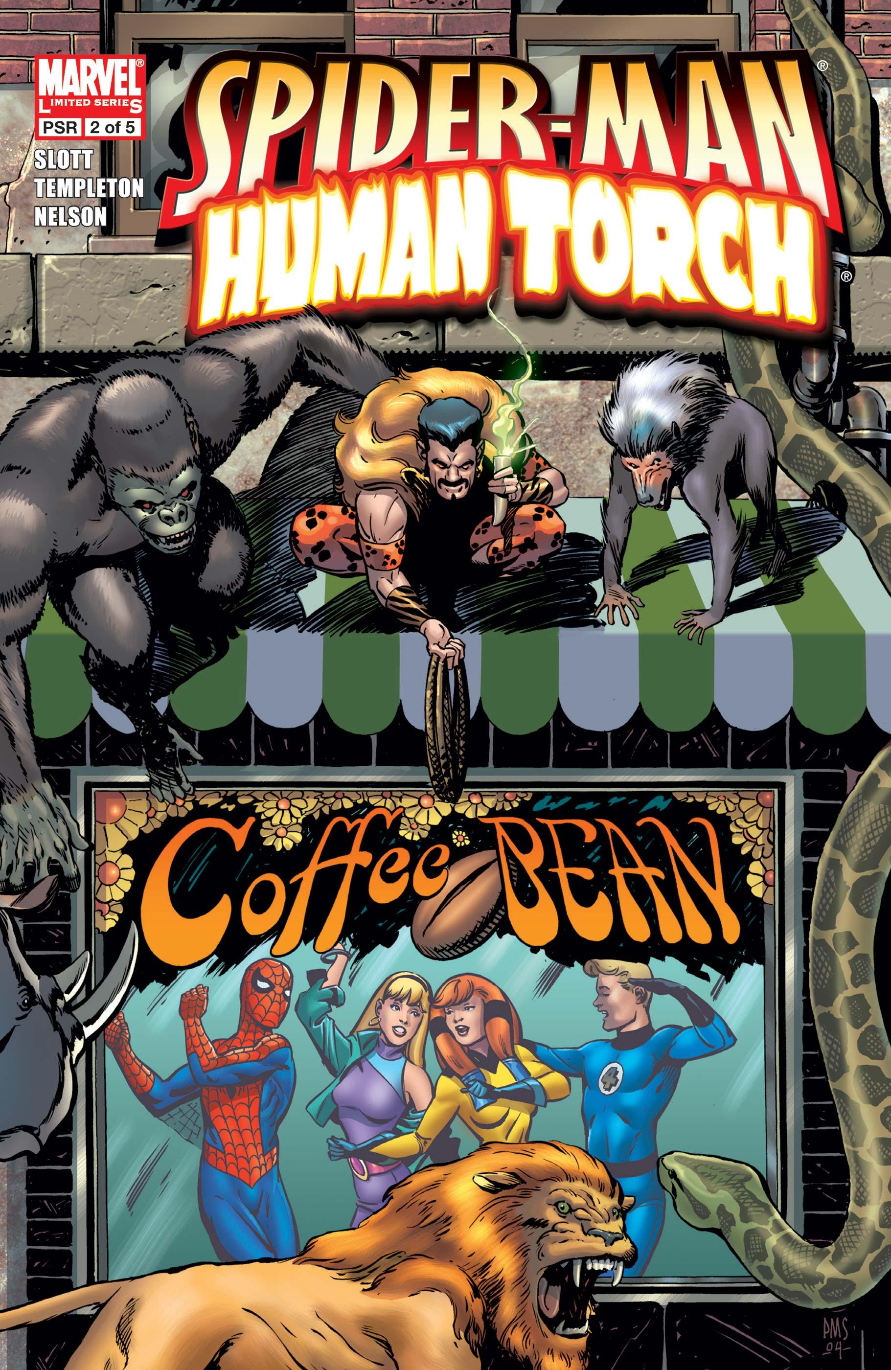 Spider-Man/Human Torch (2005) #2