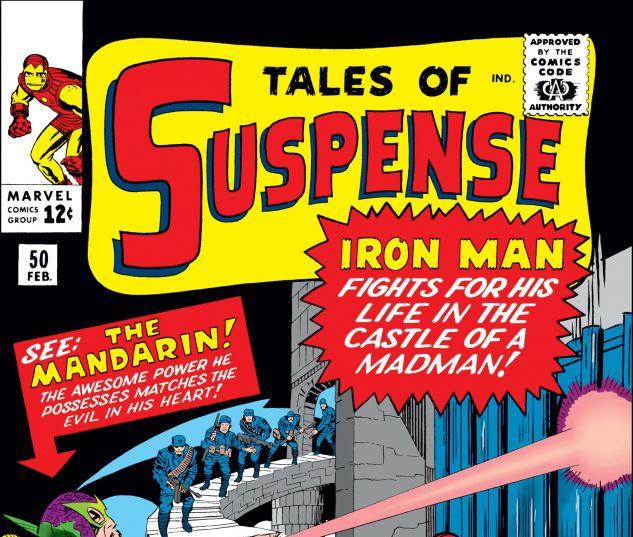 Tales of Suspense (1959) #50