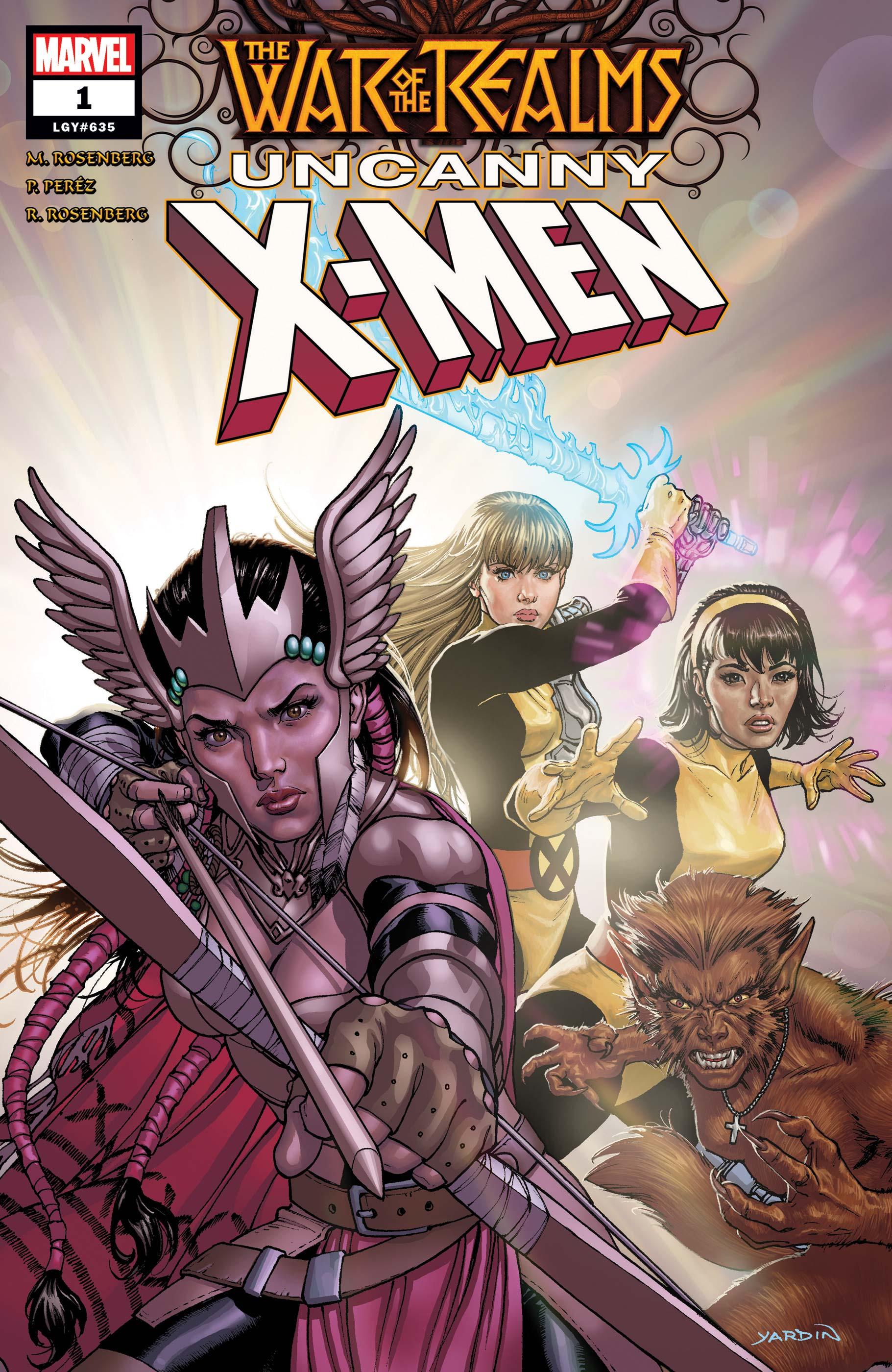 War of the Realms: Uncanny X-Men (2019) #1