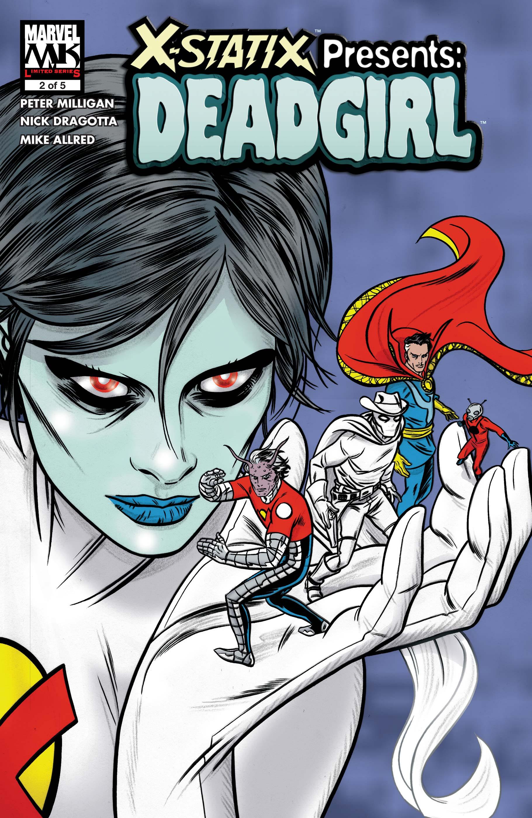 X-Statix Presents: Dead Girl (2006) #2
