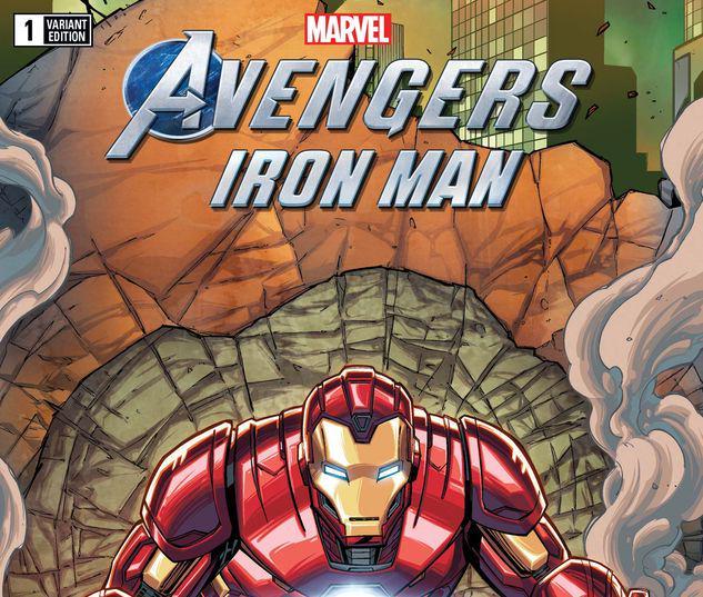 MARVEL'S AVENGERS: IRON MAN 1 RON LIM VARIANT #1