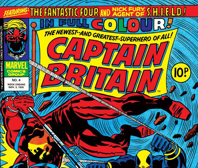 Captain Britain #4