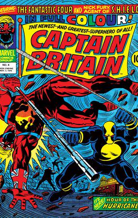 Captain Britain (1976) #4