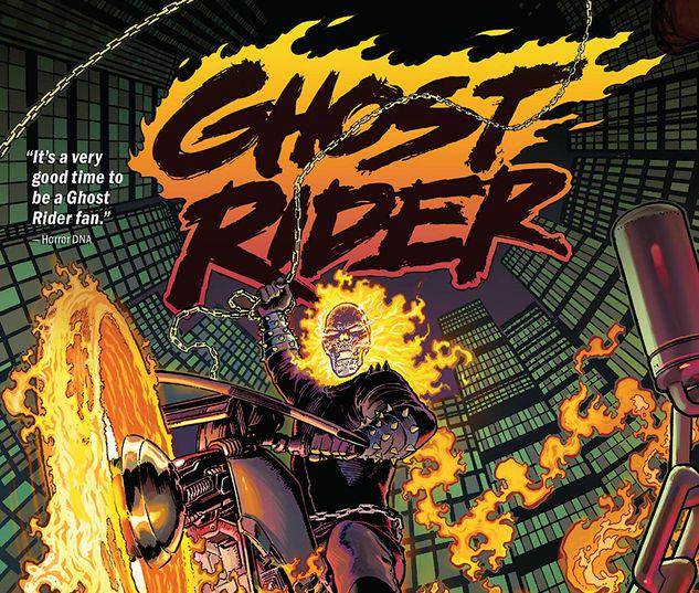 GHOST RIDER VOL. 1: THE KING OF HELL TPB  #1