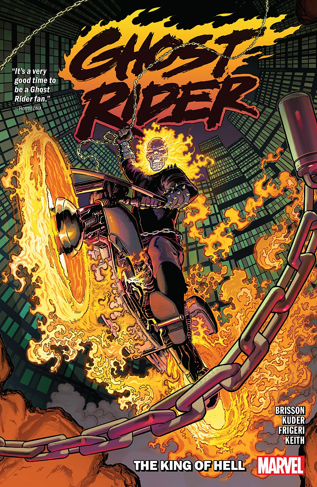 Ghost Rider Vol. 1: The King Of Hell (Trade Paperback)