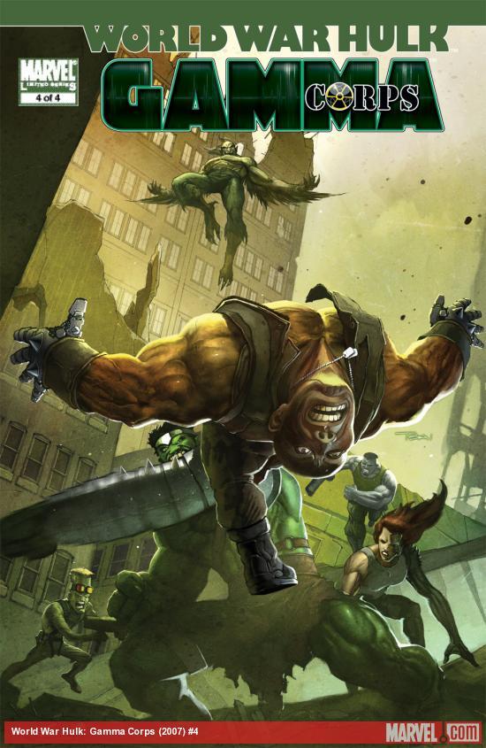 World War Hulk: Gamma Corps (2007) #4