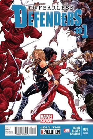 Fearless Defenders (2013) #1 (2nd Printing Variant)