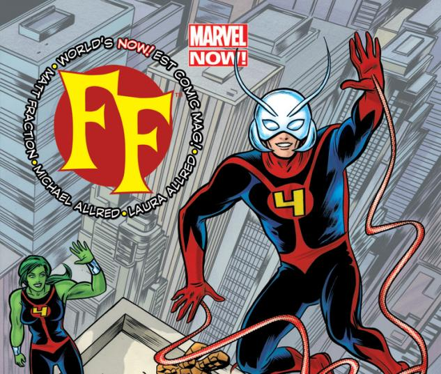 FF 2012 Cover #1