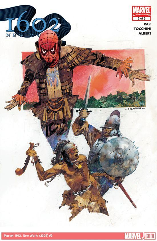 Marvel 1602: New World (2005) #5