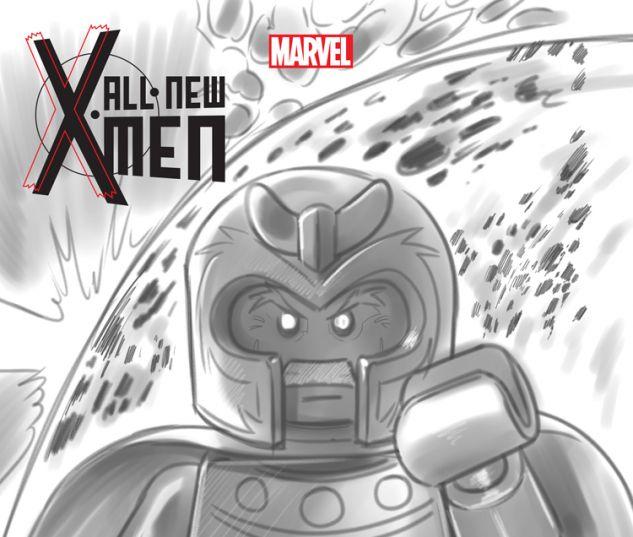 ALL-NEW X-MEN 17 CASTELLANI LEGO SKETCH VARIANT (BOTA, WITH DIGITAL CODE)