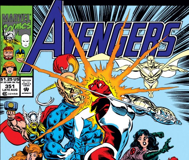 Avengers (1963) #351 Cover
