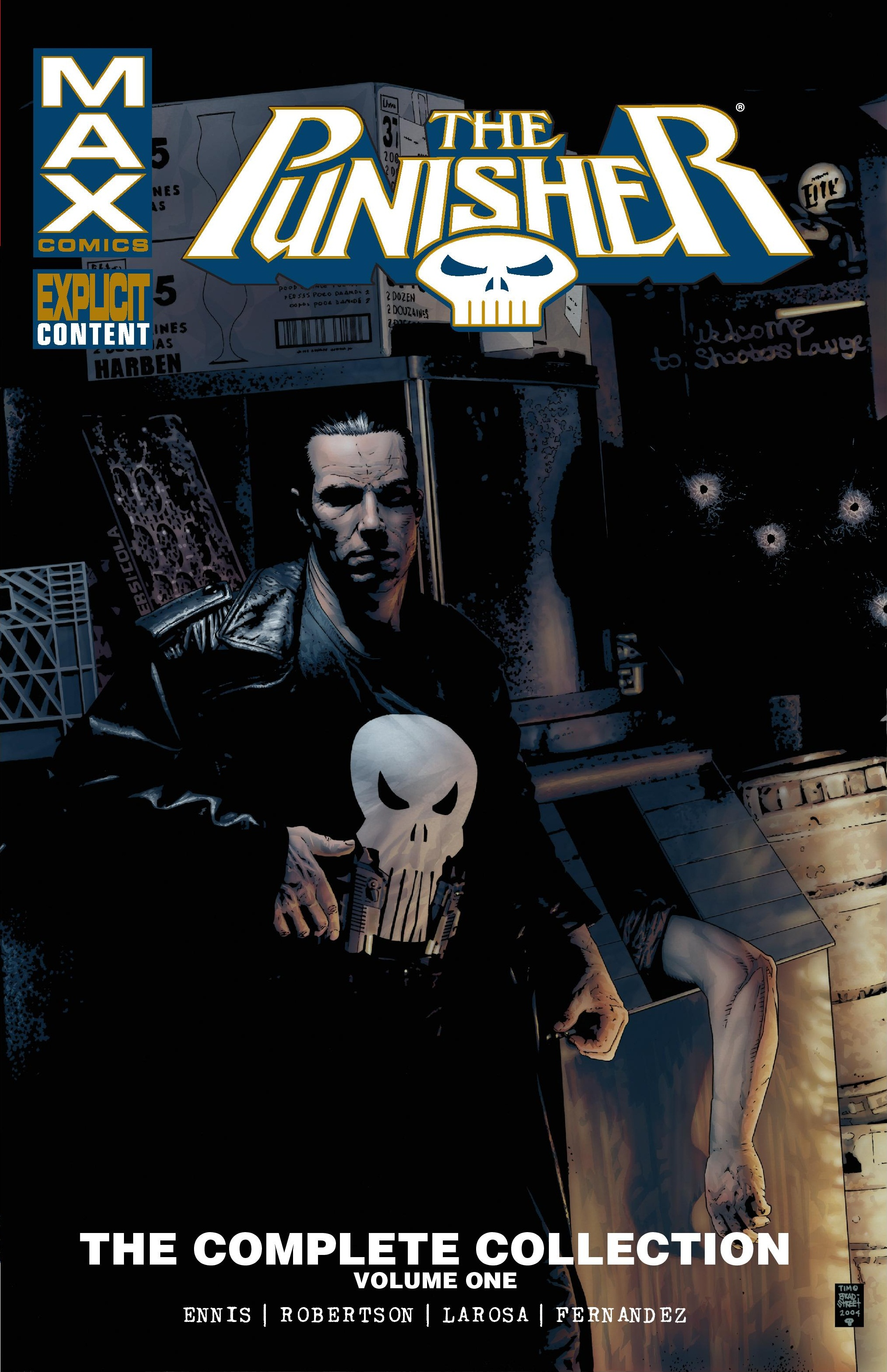 PUNISHER MAX: THE COMPLETE COLLECTION VOL. 1 TPB (Trade Paperback)