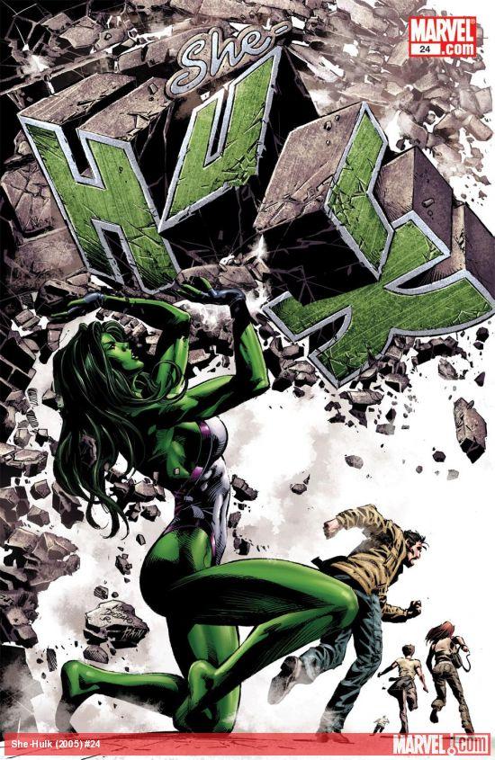She-Hulk (2005) #24