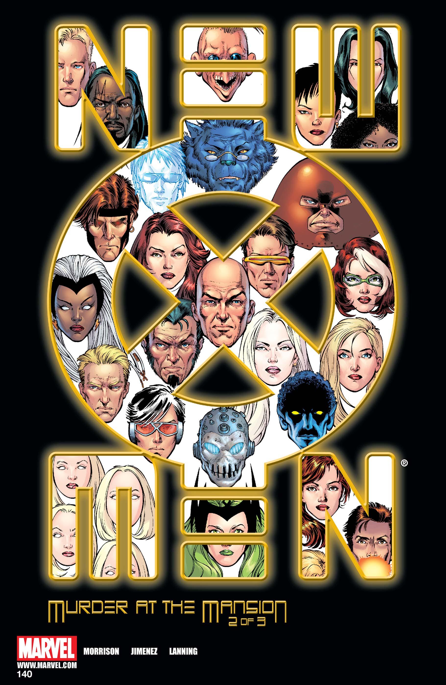 New X-Men (2001) #140
