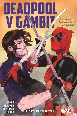 """Deadpool V Gambit: The """"V"""" Is for """"Vs."""" (Trade Paperback)"""
