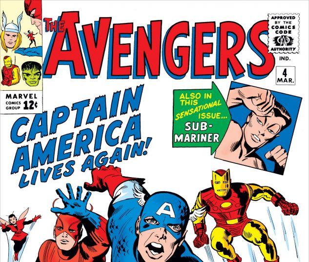AVENGERS (1963) #4