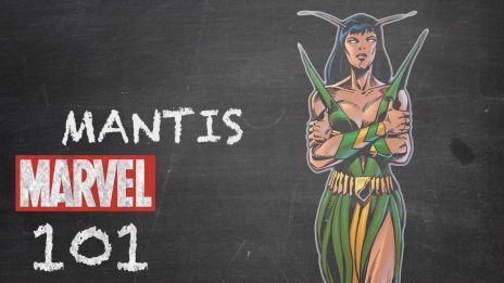 Mantis trained as a warrior with alien priests to embrace greatness!