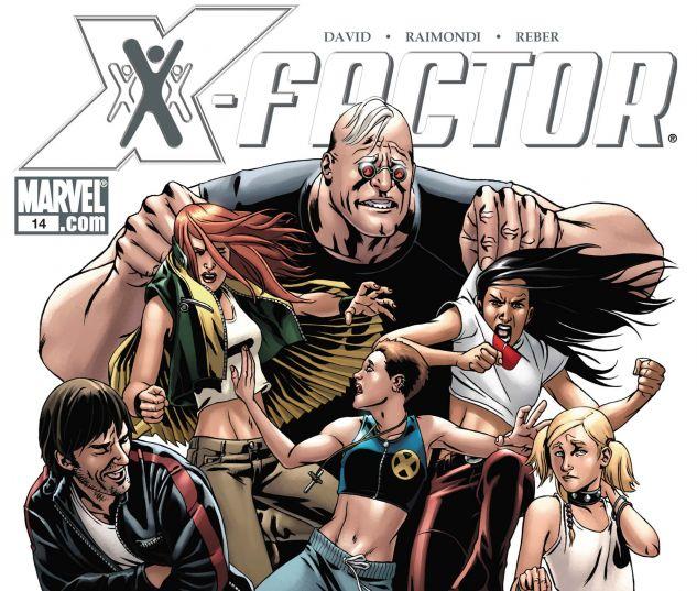 X-Factor (2005) #14