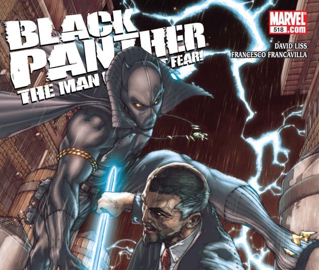 Black Panther: The Man Without Fear (2010) #518