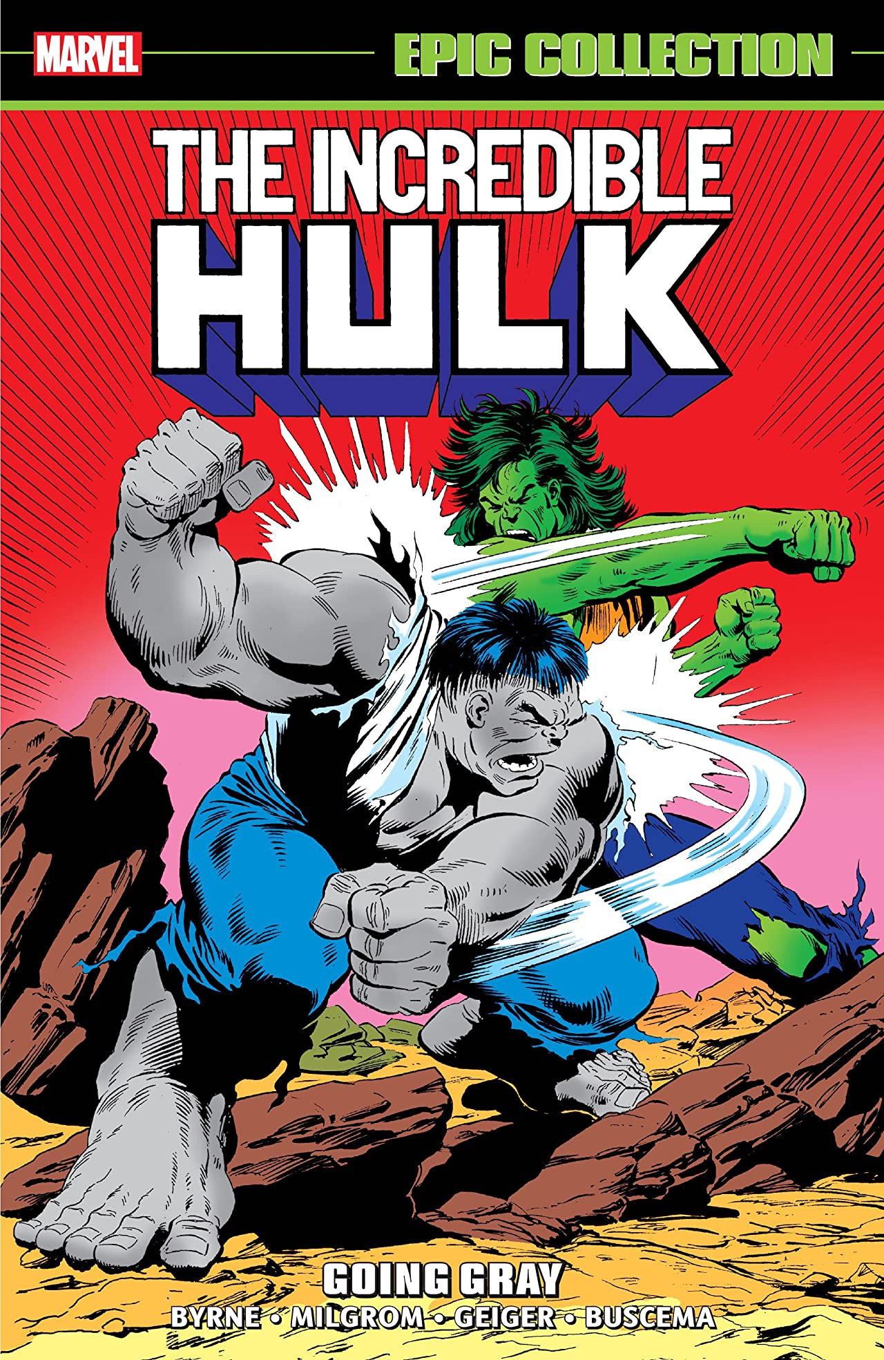 Incredible Hulk Epic Collection: Going Gray (Trade Paperback)