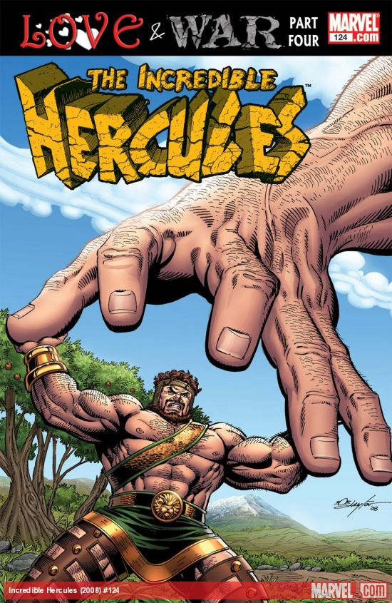 Incredible Hercules (2008) #124