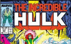 INCREDIBLE HULK #337 COVER