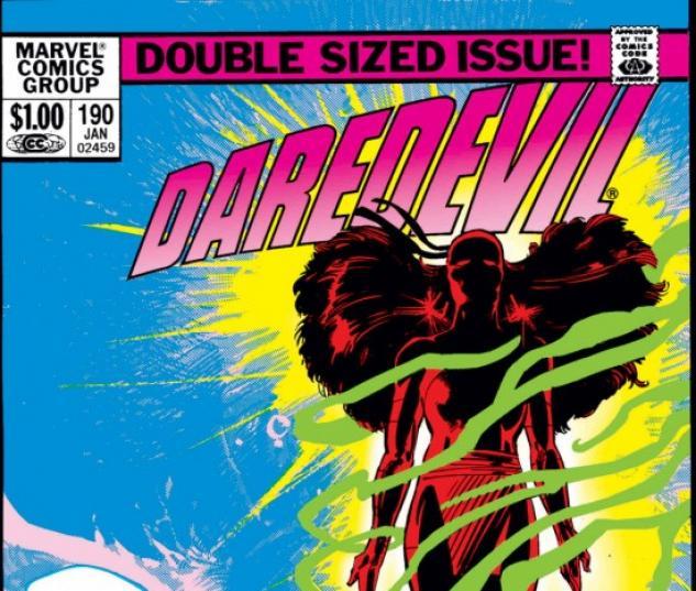 DAREDEVIL #190 COVER