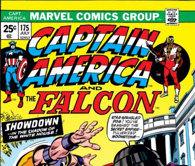 CAPTAIN AMERICA #175 COVER