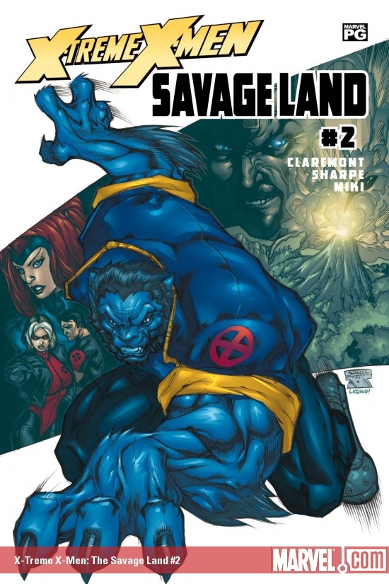 X-Treme X-Men: The Savage Land (2001) #2
