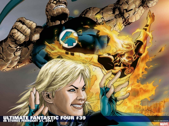 Ultimate Fantastic Four (2003) #39 Wallpaper