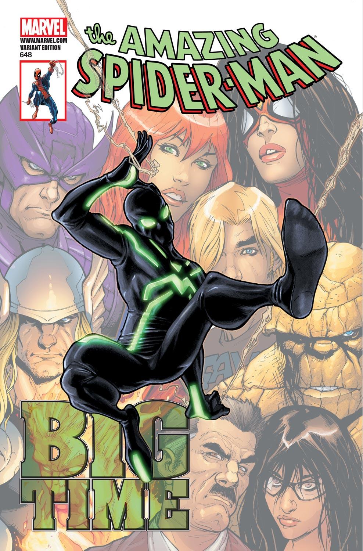 Amazing Spider-Man (1999) #648 (CASELLI VARIANT)