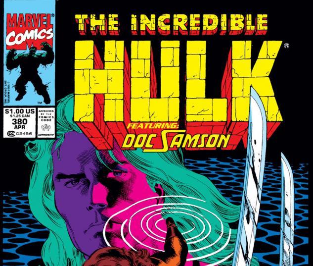 Incredible Hulk (1962) #380 Cover