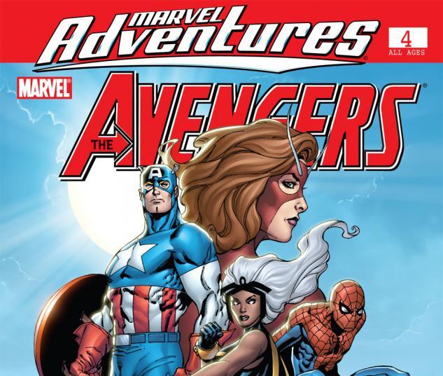 Marvel Adventures the Avengers (2006) #4