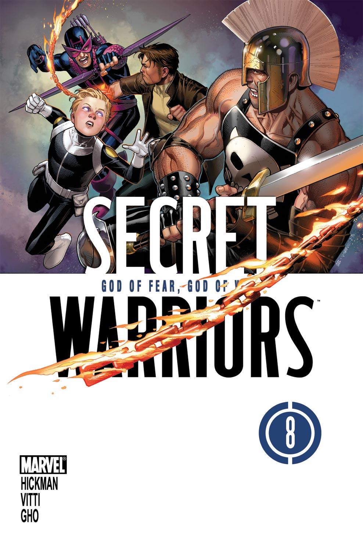 Secret Warriors (2009) #8