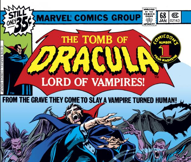 Tomb of Dracula (1972) #68 Cover