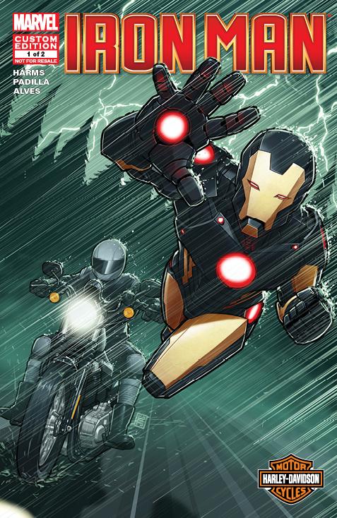 Harley-Davidson Presents Iron Man: Road Force Rides Again (2013) #1