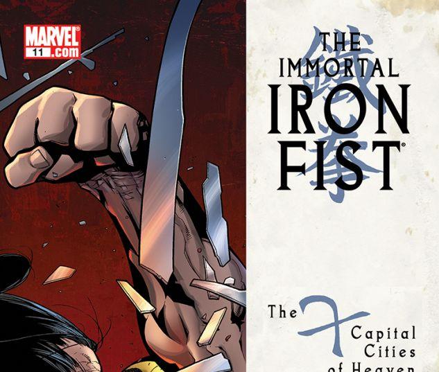 Immortal Iron Fist Annual (2007) #11