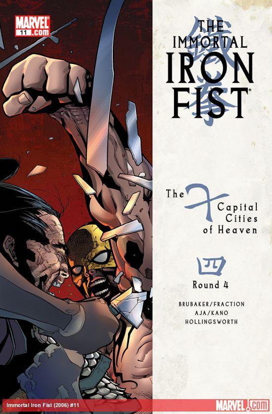 Immortal Iron Fist (2006) #11