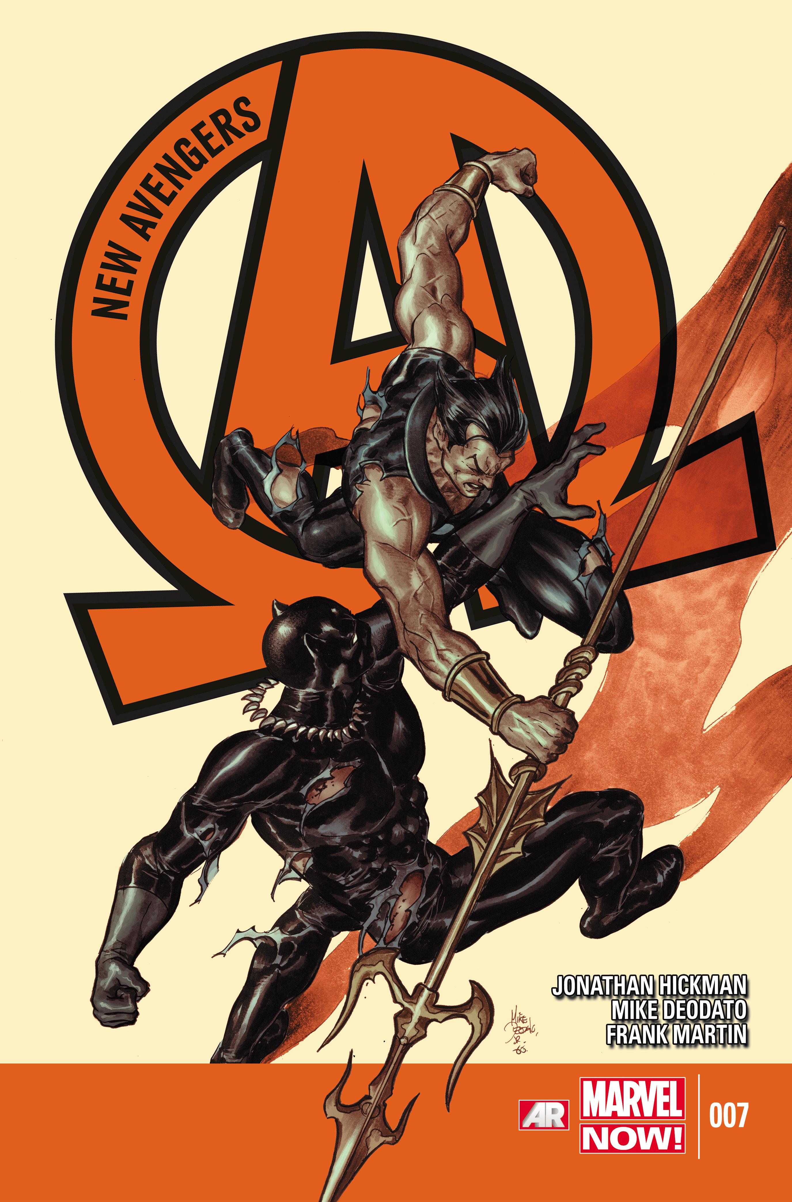 New Avengers (2013) #7