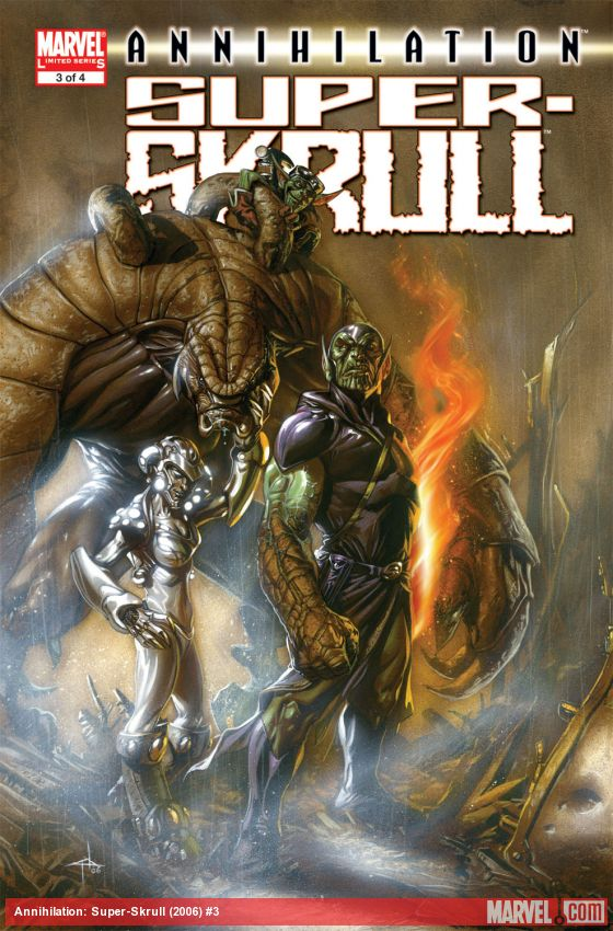 Annihilation: Super-Skrull (2006) #3