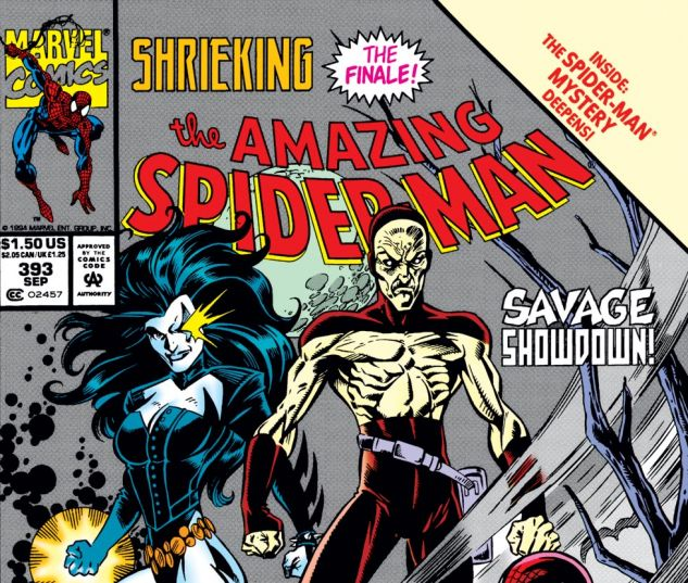 Amazing Spider-Man (1963) #393 Cover