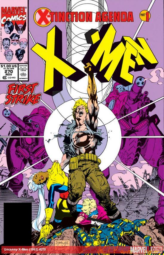 Uncanny X-Men (1963) #270