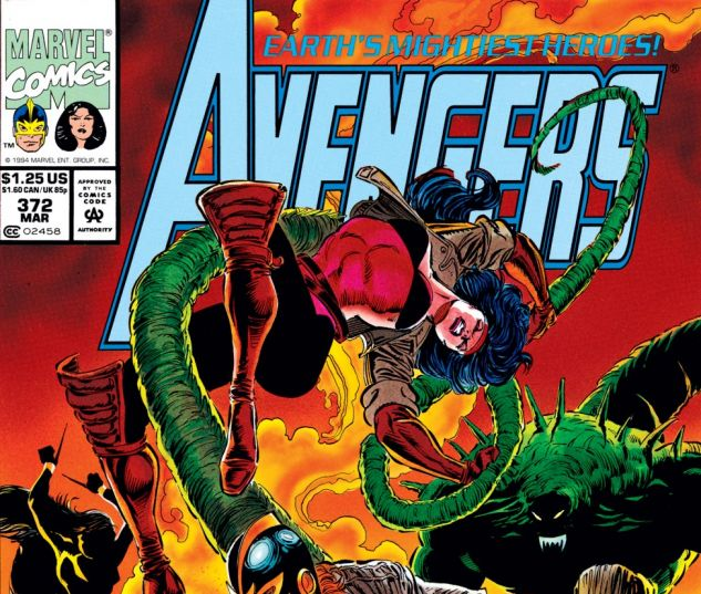 Avengers (1963) #372 Cover