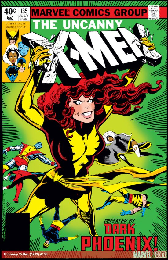 Uncanny X-Men (1963) #135
