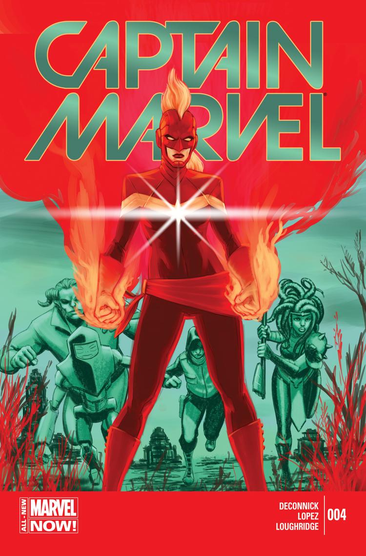 Captain Marvel (2014) #4