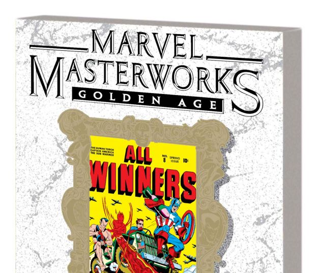 MARVEL MASTERWORKS: GOLDEN AGE ALL-WINNERS VOL. 2 TPB VARIANT (DM ONLY)