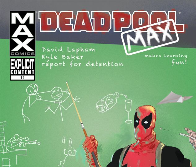 Deadpool Max #11 Cover