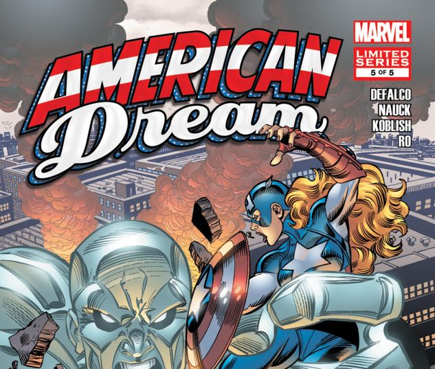 American Dream 2008 5 Comics Marvelcom