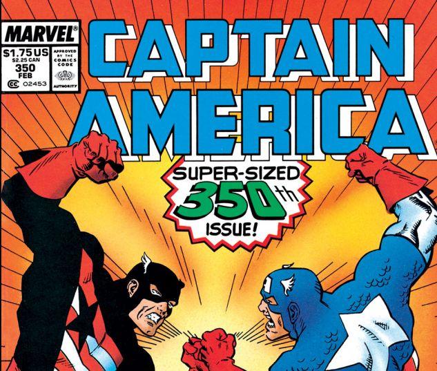 Captain America (1968) #350